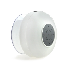 Waterproof Wireless Handsfree Mic Suction Mini Speaker Shower Car